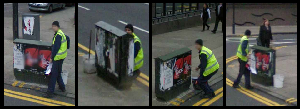 5-Flyposting-in-action-Caught-on-camera-Anti-Social-Behaviour