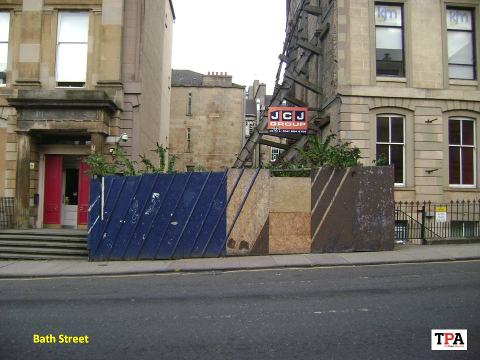 TPA Posters Bath Street, Glasgow